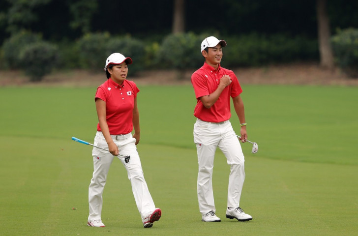 Mixed-team golf featured at the Nanjing 2014 Youth Olympic Games