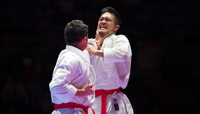 The event in Okinawa is due to conclude tomorrow ©WKF
