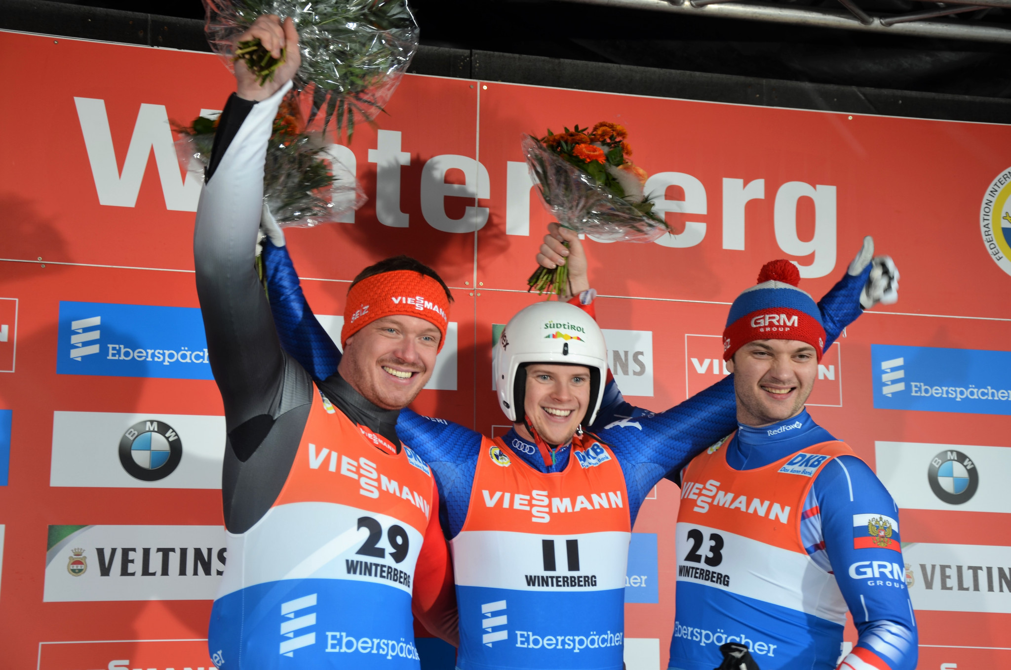 Fischnaller takes surprise victory at Luge World Cup