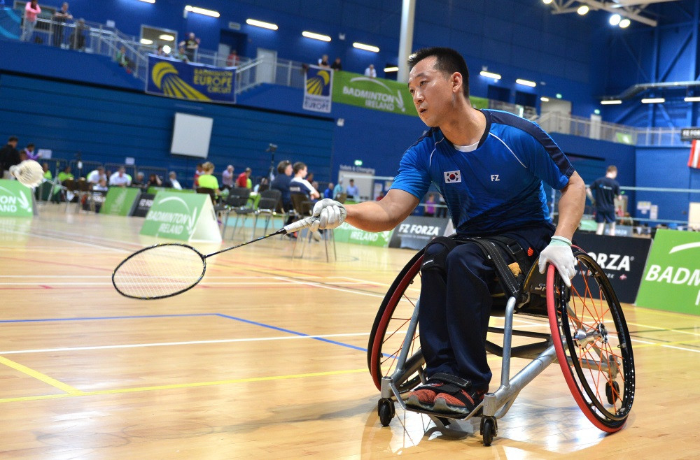 Kim and Kyung to battle for men's WH 2 title at Para Badminton World Championships