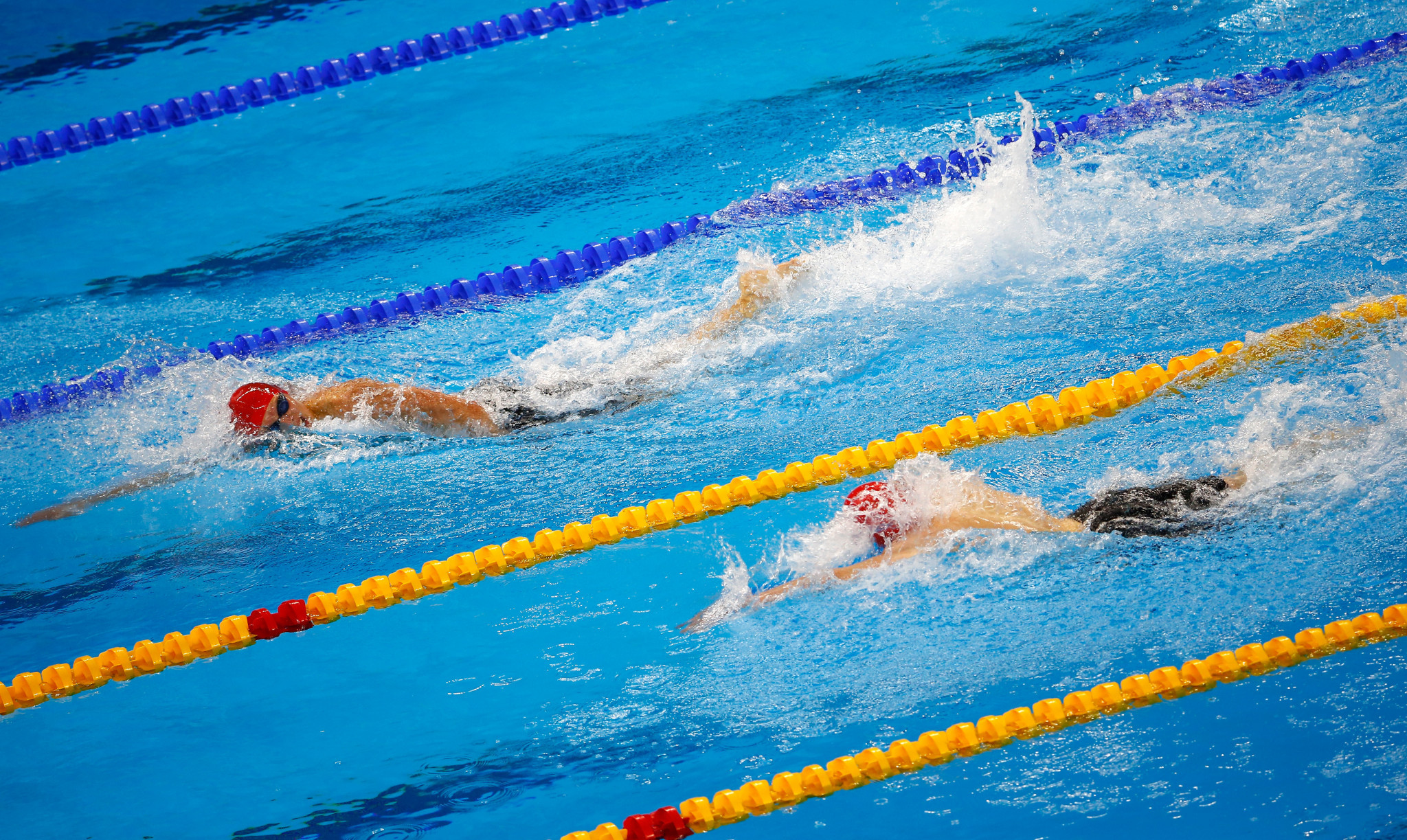 Only junior swimming competitions were held at the Baku 2015 European Games ©Getty Images