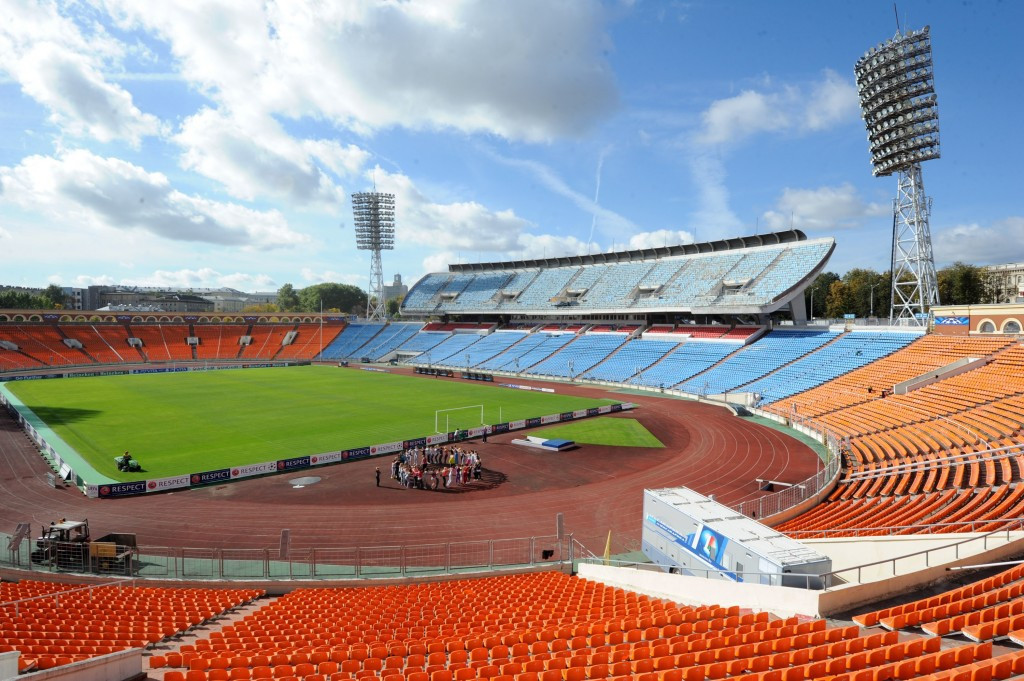 The Dinamo Stadium in Minsk will host both Ceremonies and athletics at the second European Games in 2019 ©Getty Images