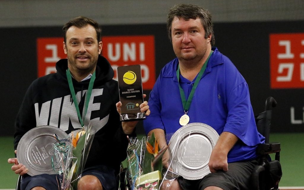 Taylor and Wagner win quads title at Wheelchair Doubles Masters