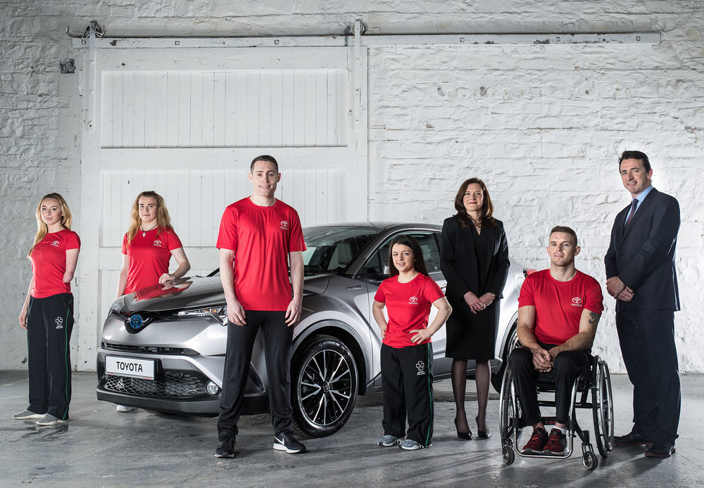 Toyota Ireland sign partnership deal with Paralympics Ireland for Tokyo 2020 and Paris 2024