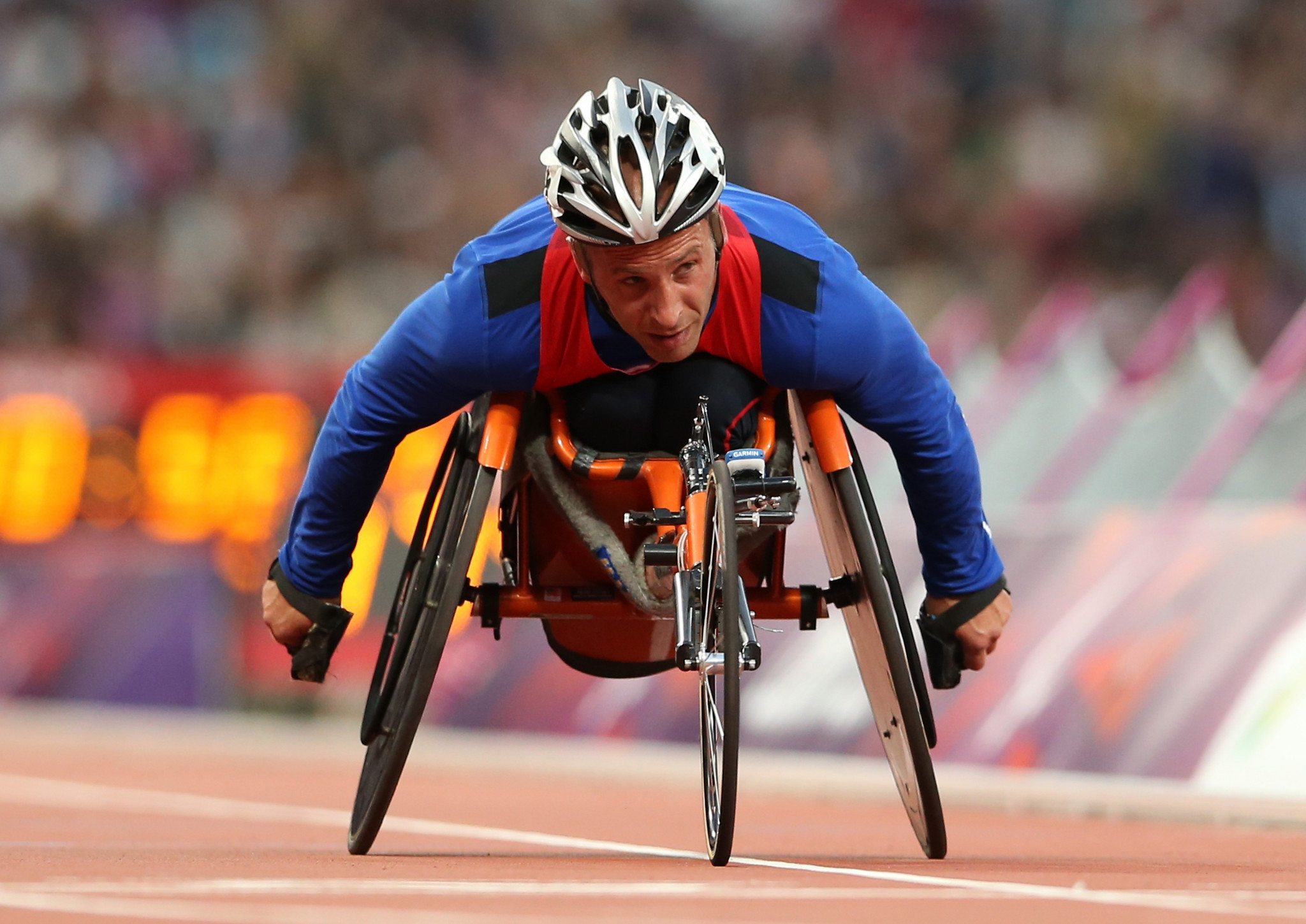 Adam Bleakney is in contention for the Paralympic Coach of the Year honour ©Getty Images