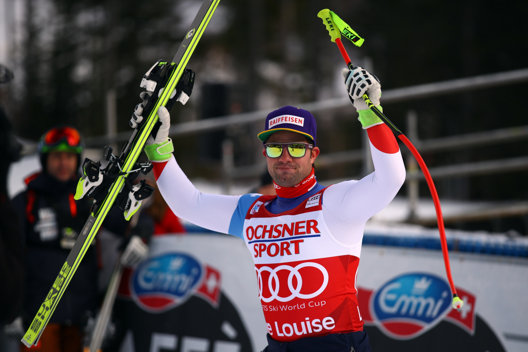 World champion Feuz wins downhill event at FIS Alpine Skiing World Cup in Lake Louise