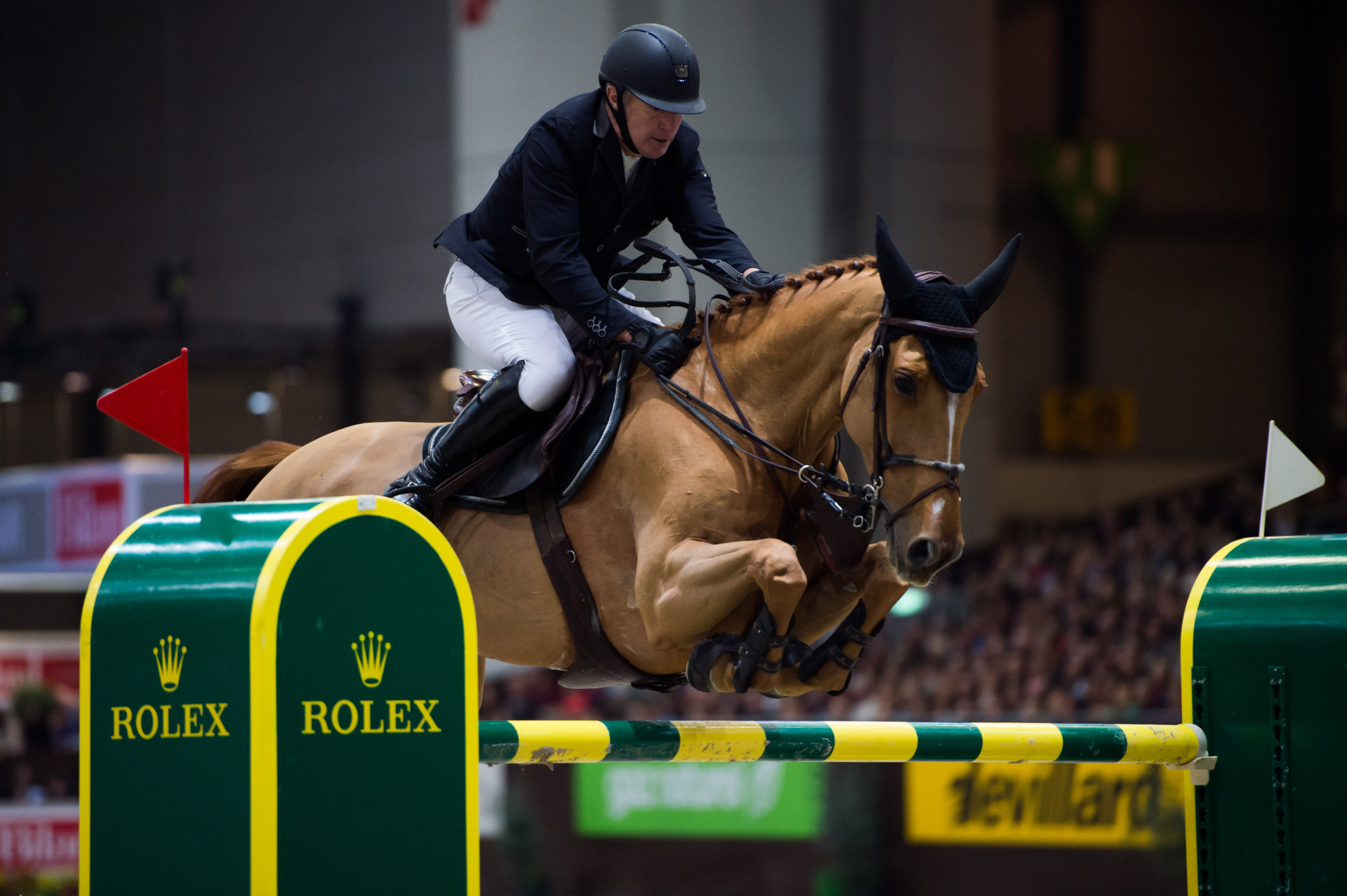 Bost triumphs in high quality FEI World Cup Western League Jumping event in Madrid