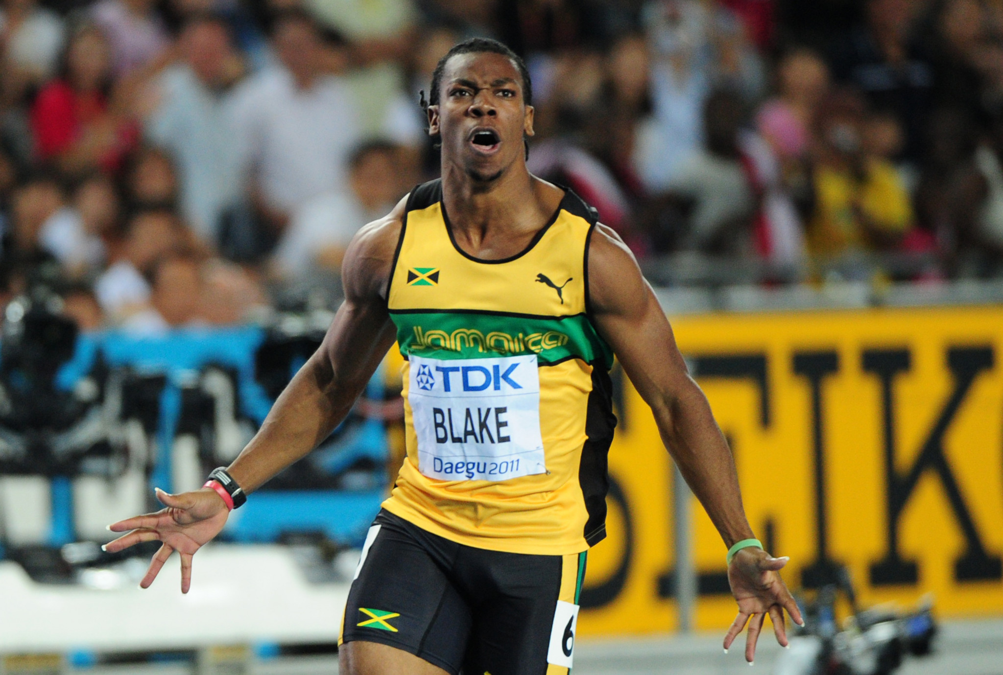 Jamaica's Yohan Blake is hoping to get back to the heights of 2011 when he won the 100m at the IAAF World Championships in Daegu before injury took its toll ©Getty Images