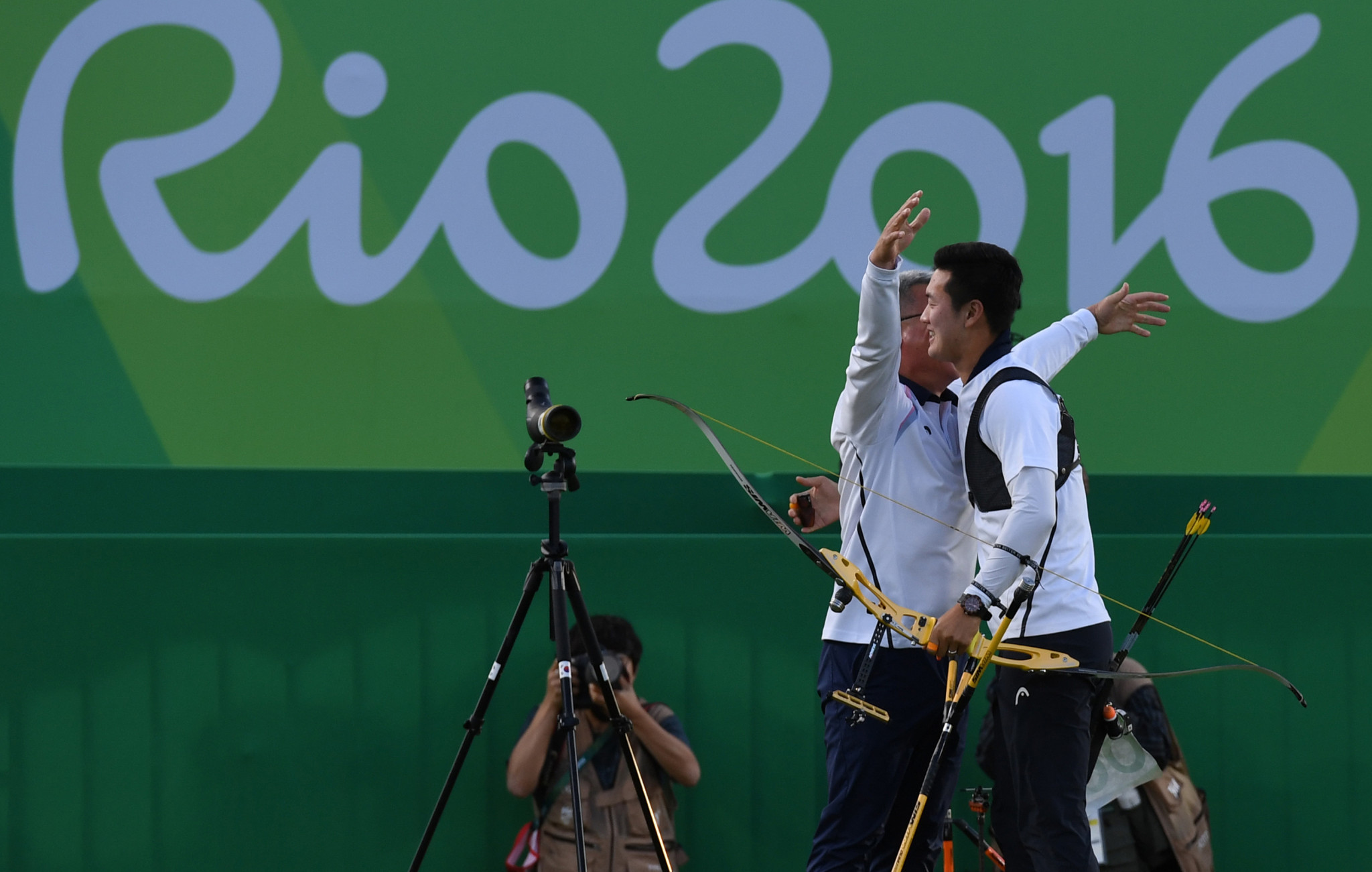 South Korean archers won all four Olympic titles at Rio 2016, finishing top of the sport's medal table for the eight consecutive Games, a record stretching back to Seoul 1988 ©Getty Images