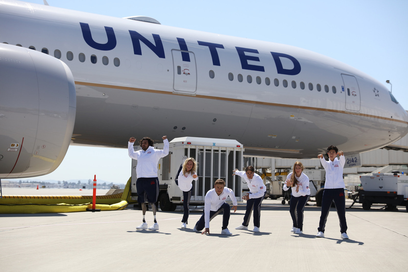 United Airlines announce backing for six American athletes for Pyeongchang 2018