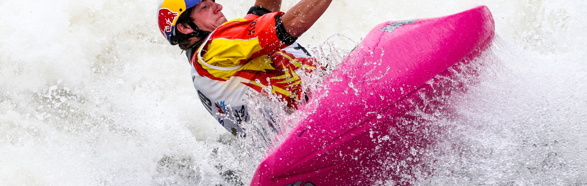 Dane Jackson will be looking to underline his reputation as the world's most exciting kayaker at the ICF Canoe Freestyle World Championships ©ICF
