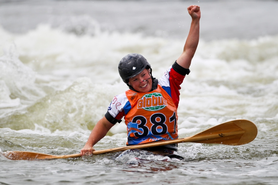 Claire O'Hara, seen as the greatest kayaker of all time, will be looking to add a ninth world title in San Juan ©ICF