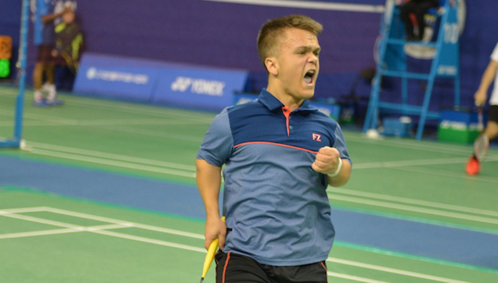 England's Jack Shephard triumphed in the men's SS 6 singles final ©BWF