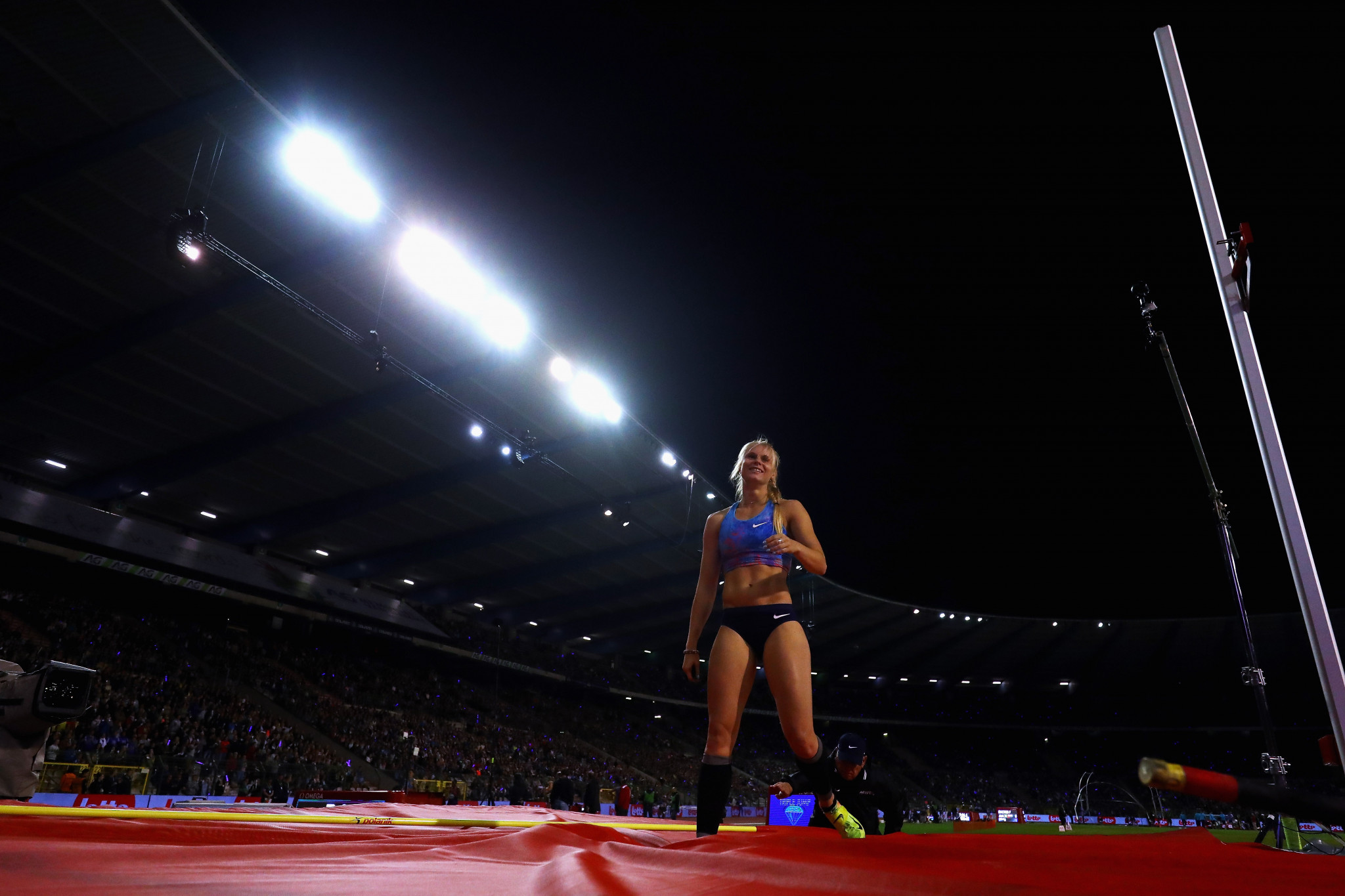 The Brussels Diamond League meeting will not have fans present this year ©Getty Images