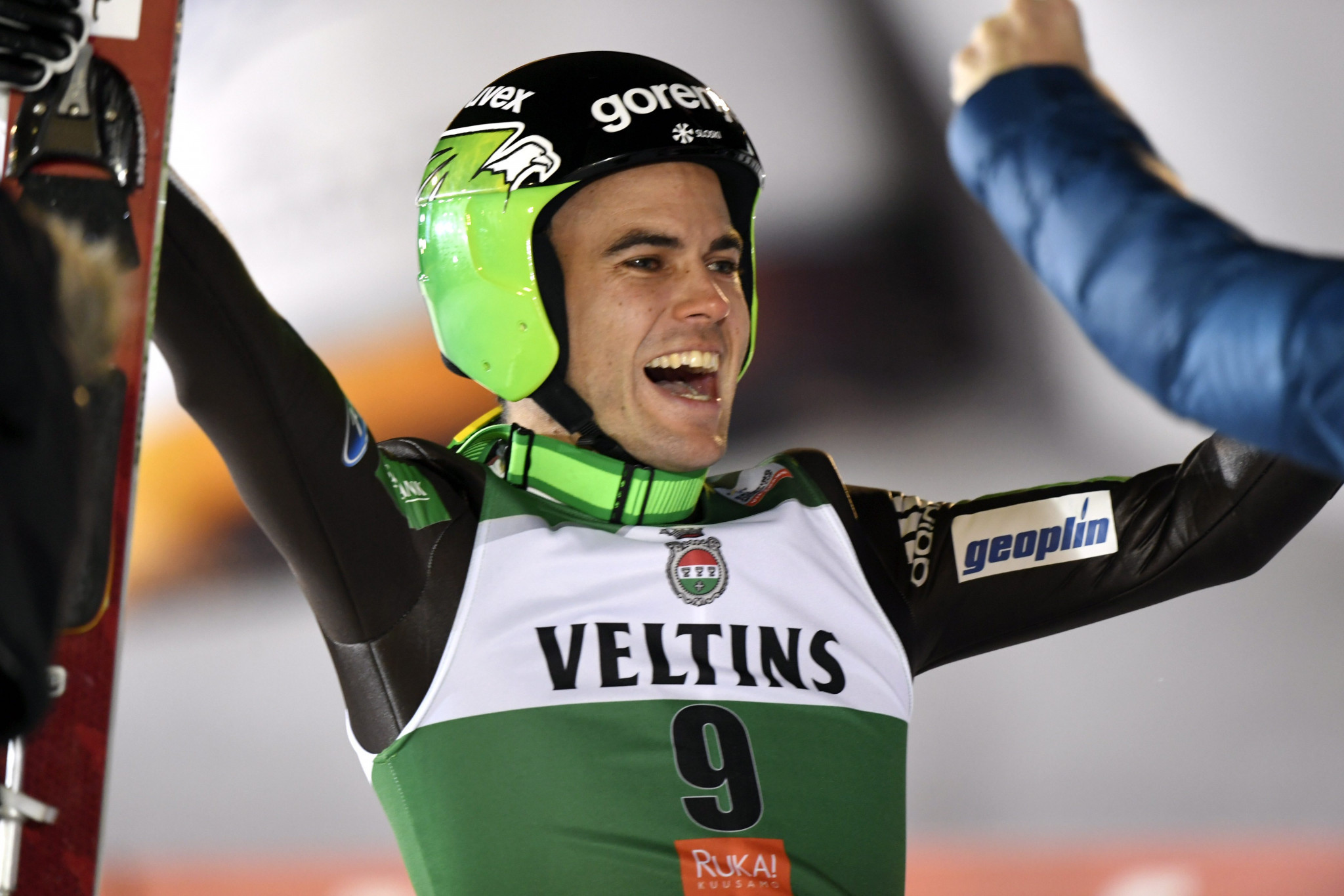 Damjan takes surprise victory at FIS Ski Jumping World Cup in Ruka