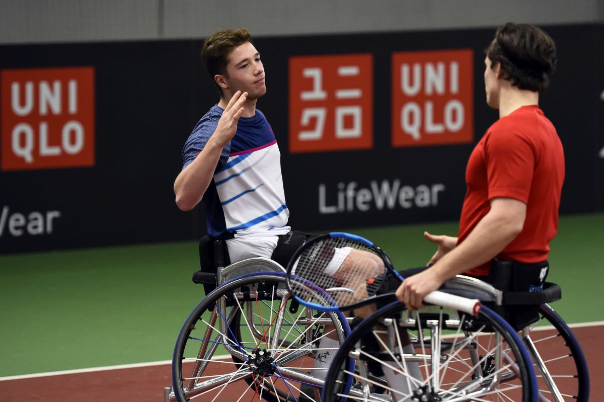 Reid and Hewett come from behind again to win title at UNIQLO Wheelchair Tennis Doubles Masters