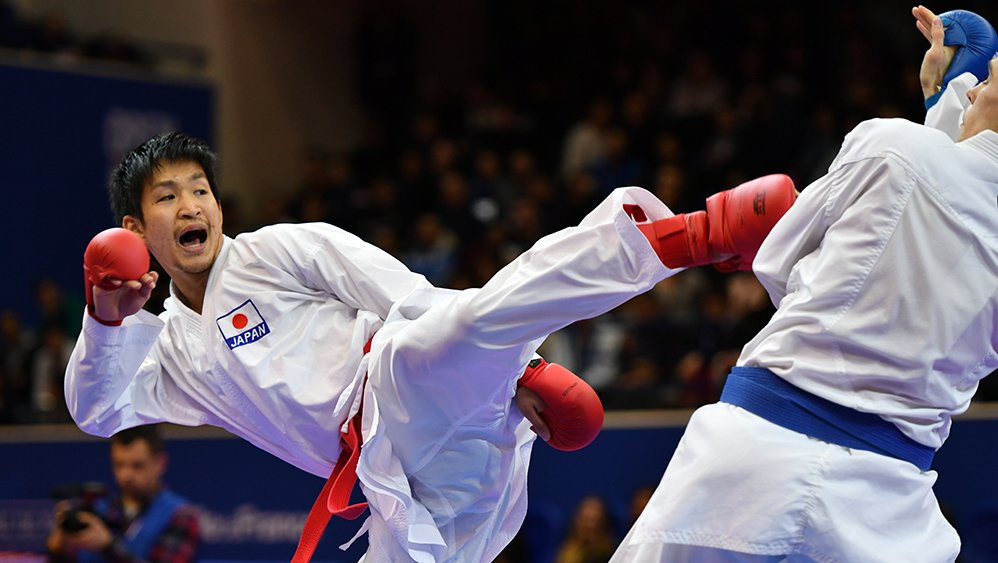 Japan finished top of the medals table in Okinawa ©WKF