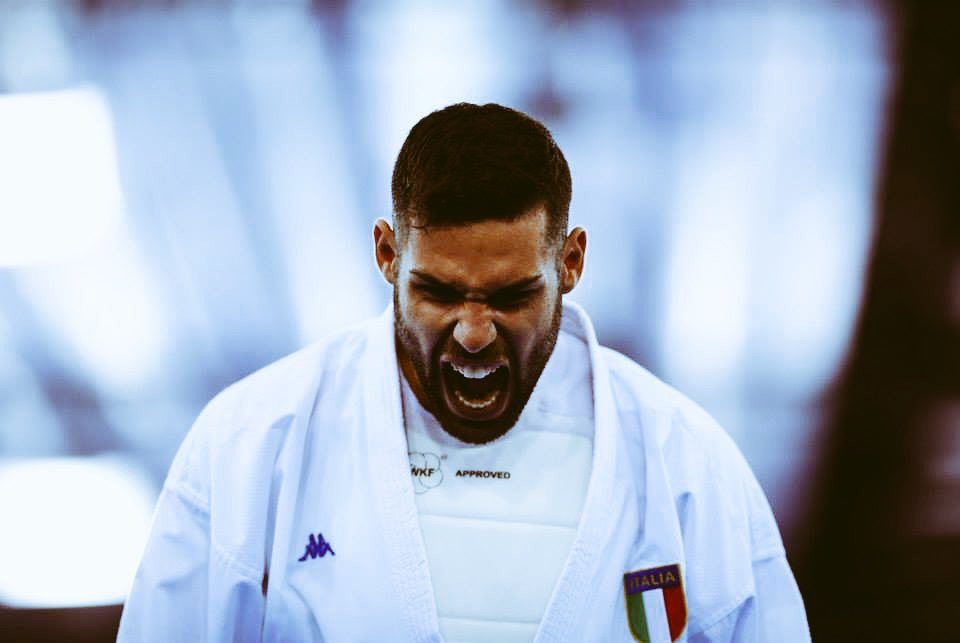 Italy's Luigi Busa emerged as the winner of the men's under 75kg event ©WKF