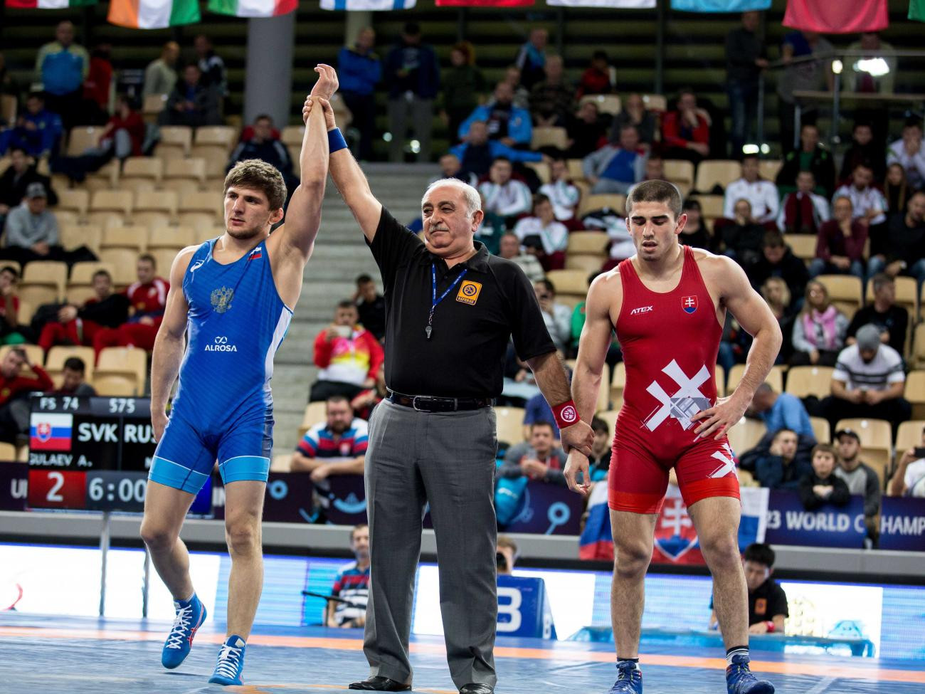 Russia claim two titles on final day of Under-23 World Wrestling Championships