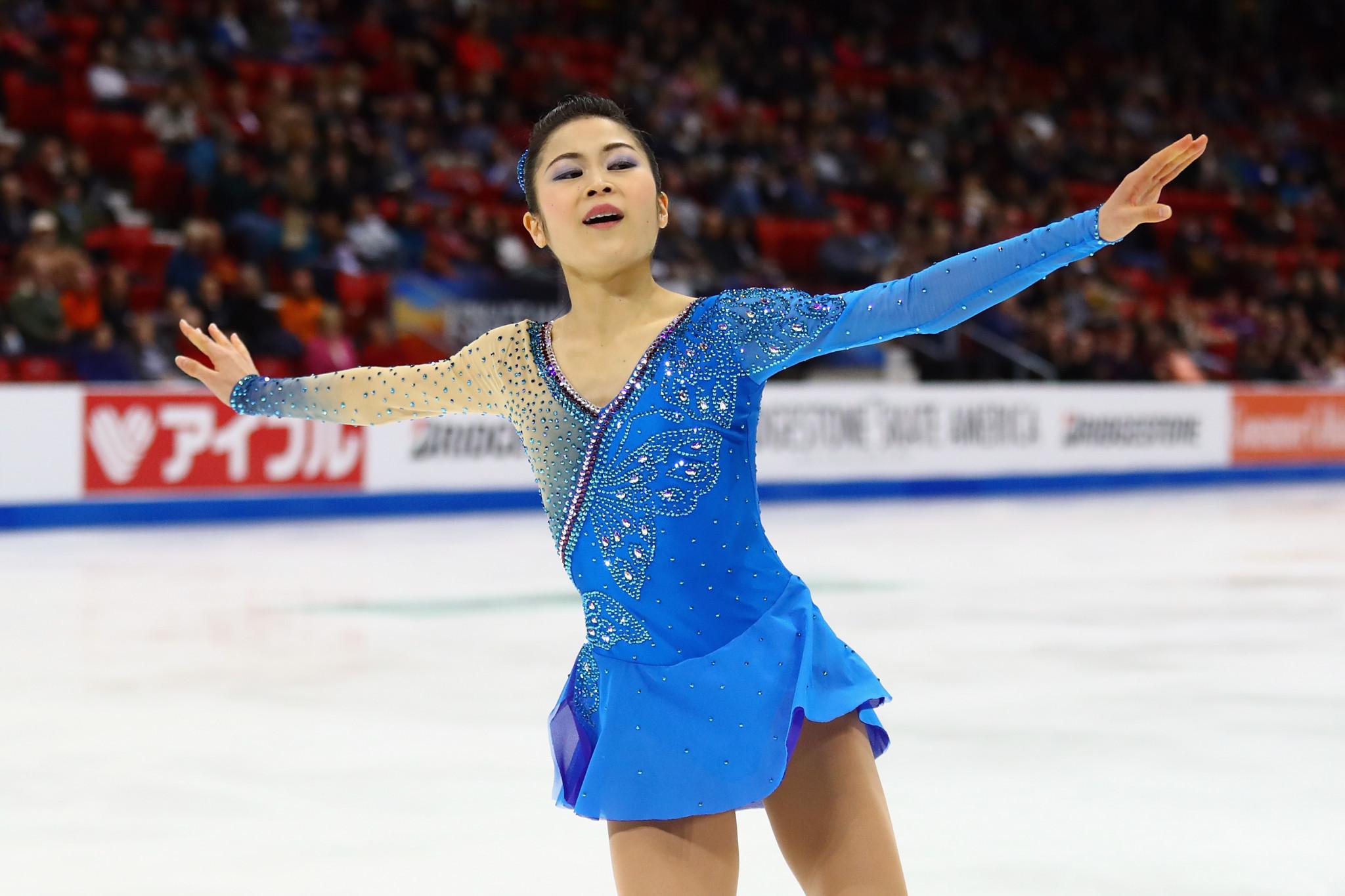 Japan's Miyahara clinches women's title at Skate America