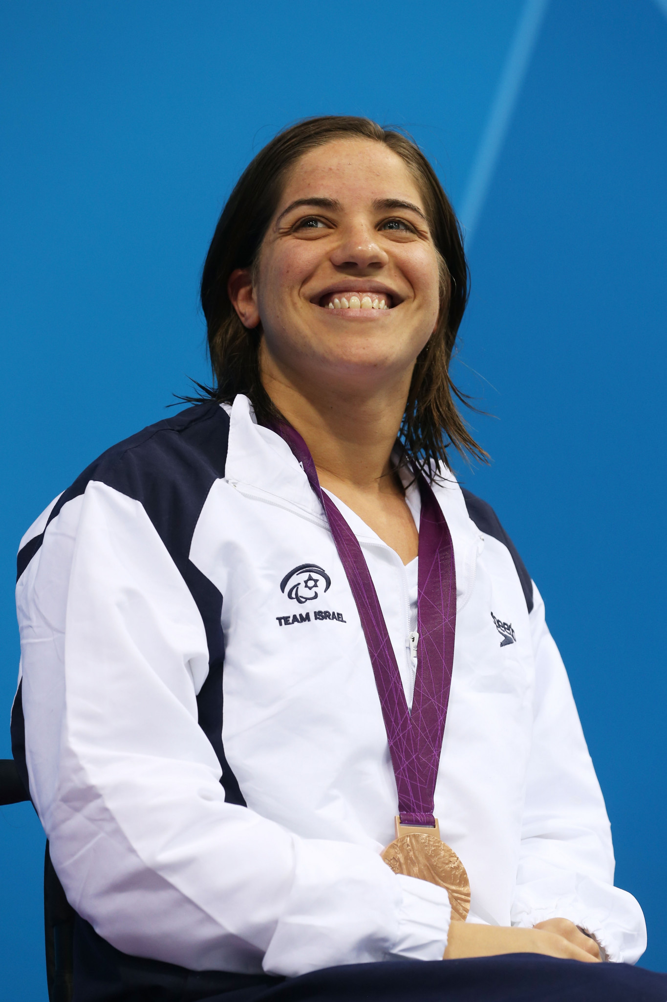 Inbal Pezaro, of Israel, seen here after winning a bronze medal at London 2012 is one of 11 swimmers hoping to get one of five spots to sit on the newly created World Para Swimming Athlete Advisory Group ©Getty Images