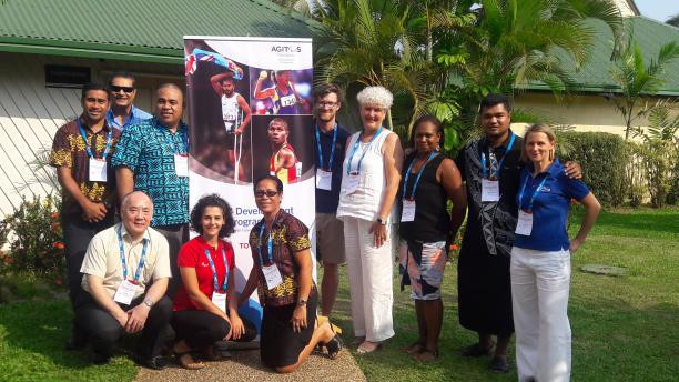 Seven NPCs took part in Oceania's first Organisational Capacity Programme meeting © Agitos Foundation