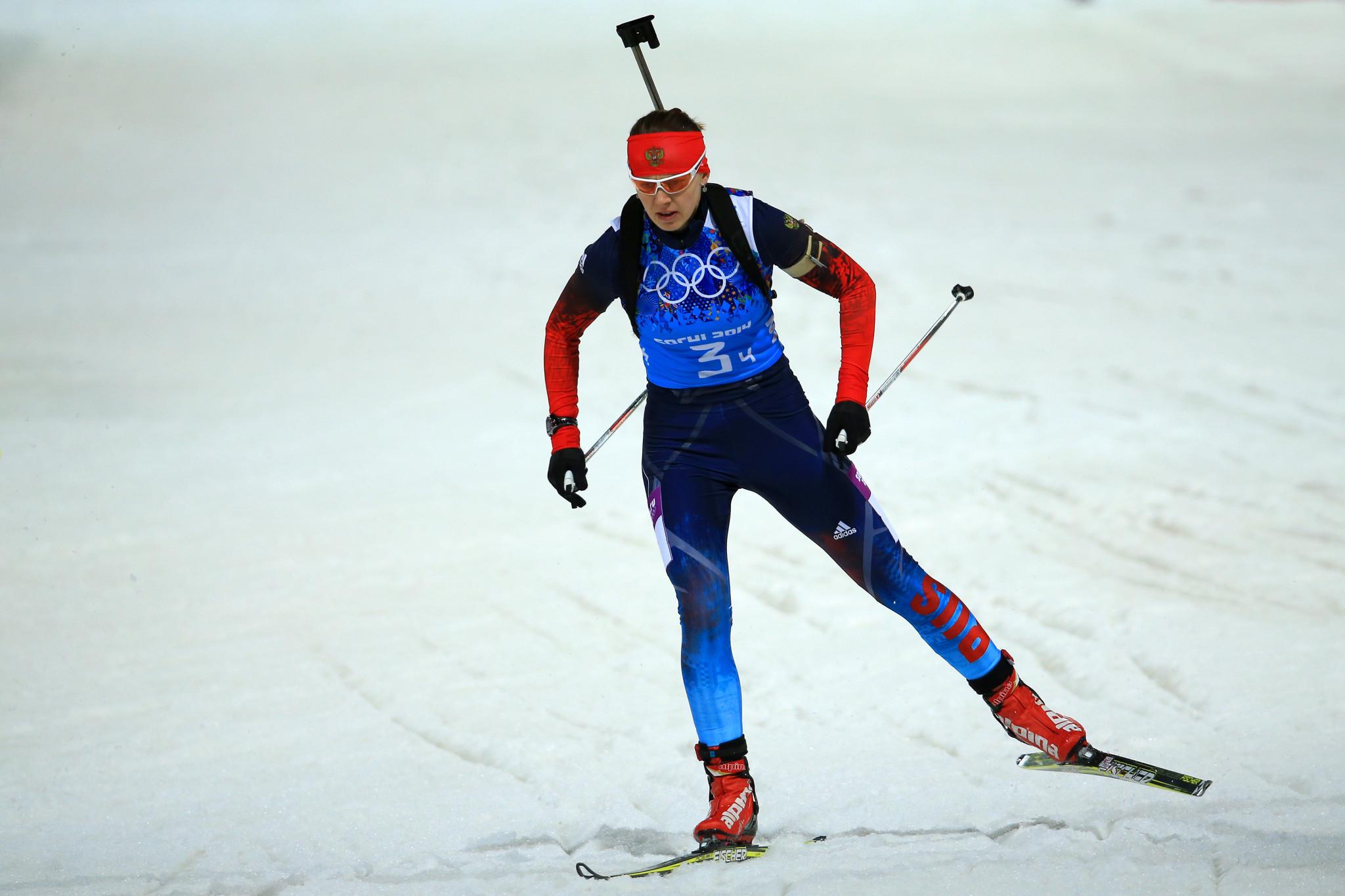 Russian biathlete Yana Romanova: biography and sports career 44