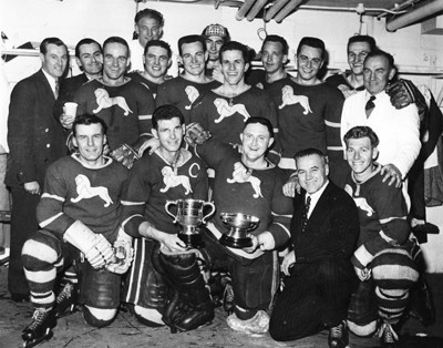 Murray was part of the Wembley Lions side that lifted the British national League in 1956/57. Squad: Gerry Frizzelle, Roy Shepherd, Les Strongman, Ken Booth, Les Anning, Malcolm Davidson, Gordon Scott, Johnny Murray, Ron Kilbey, Allan Lee, Clarence