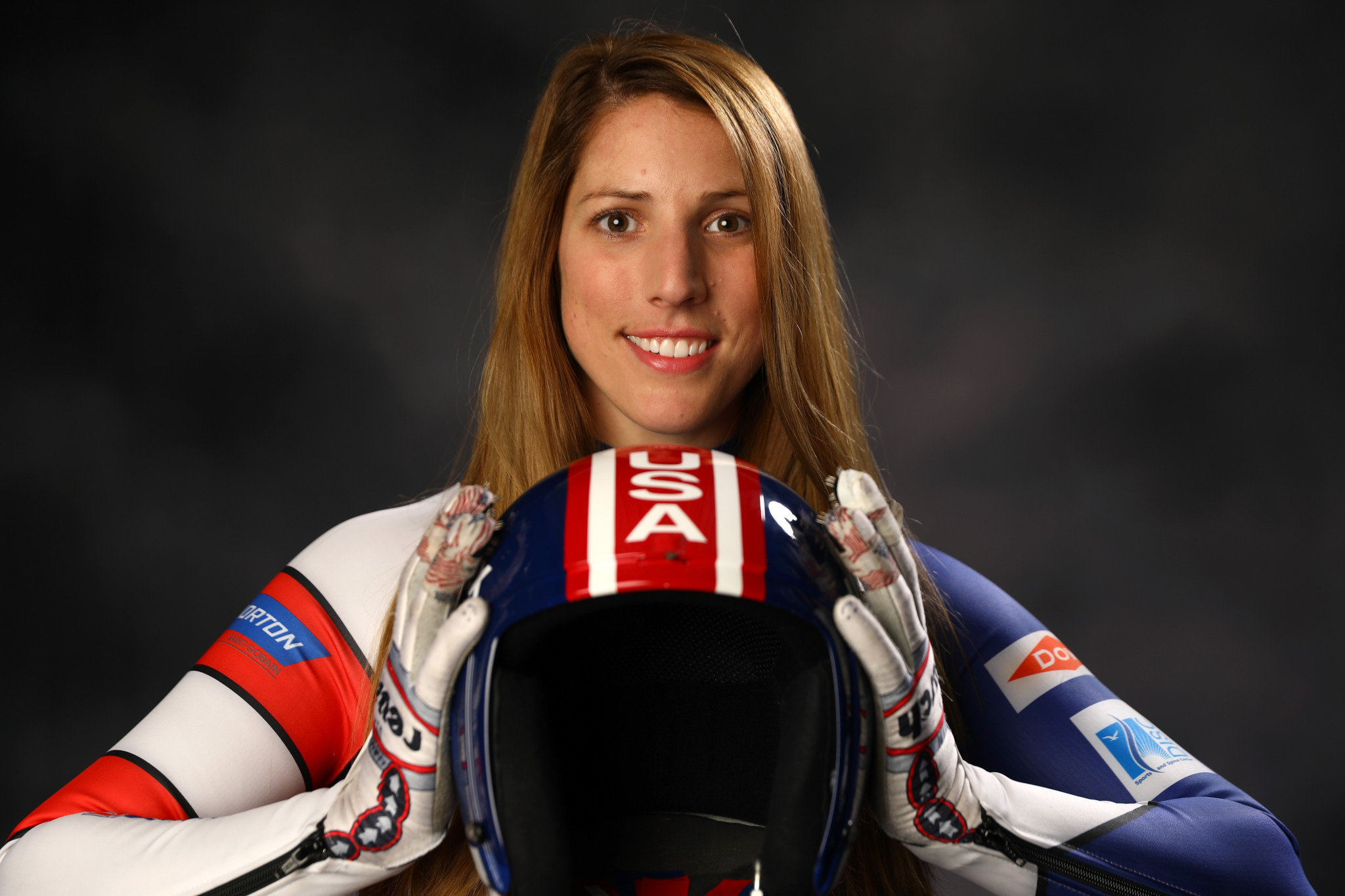 Team USA luger Erin Hamlin will be wearing Duluth Trading attire at next year's Winter Olympics in Pyeongchang ©Getty Images