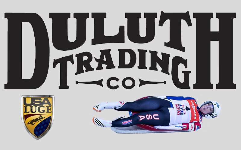 USA Luge have announced Duluth Trading Co as their off-sledding clothing partner ©USA Luge