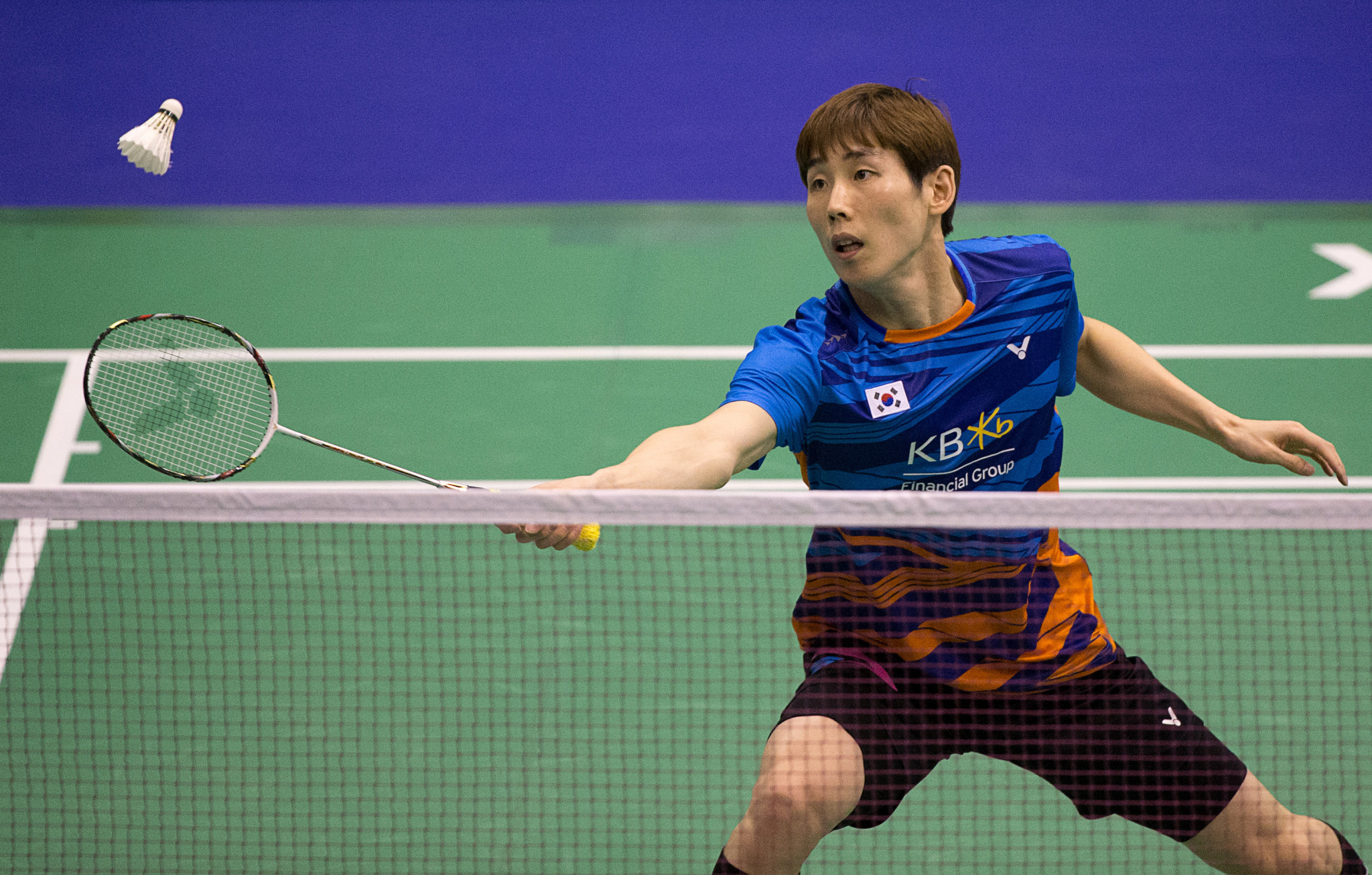 Second seed Wang crashes out in first round of BWF Korea Masters