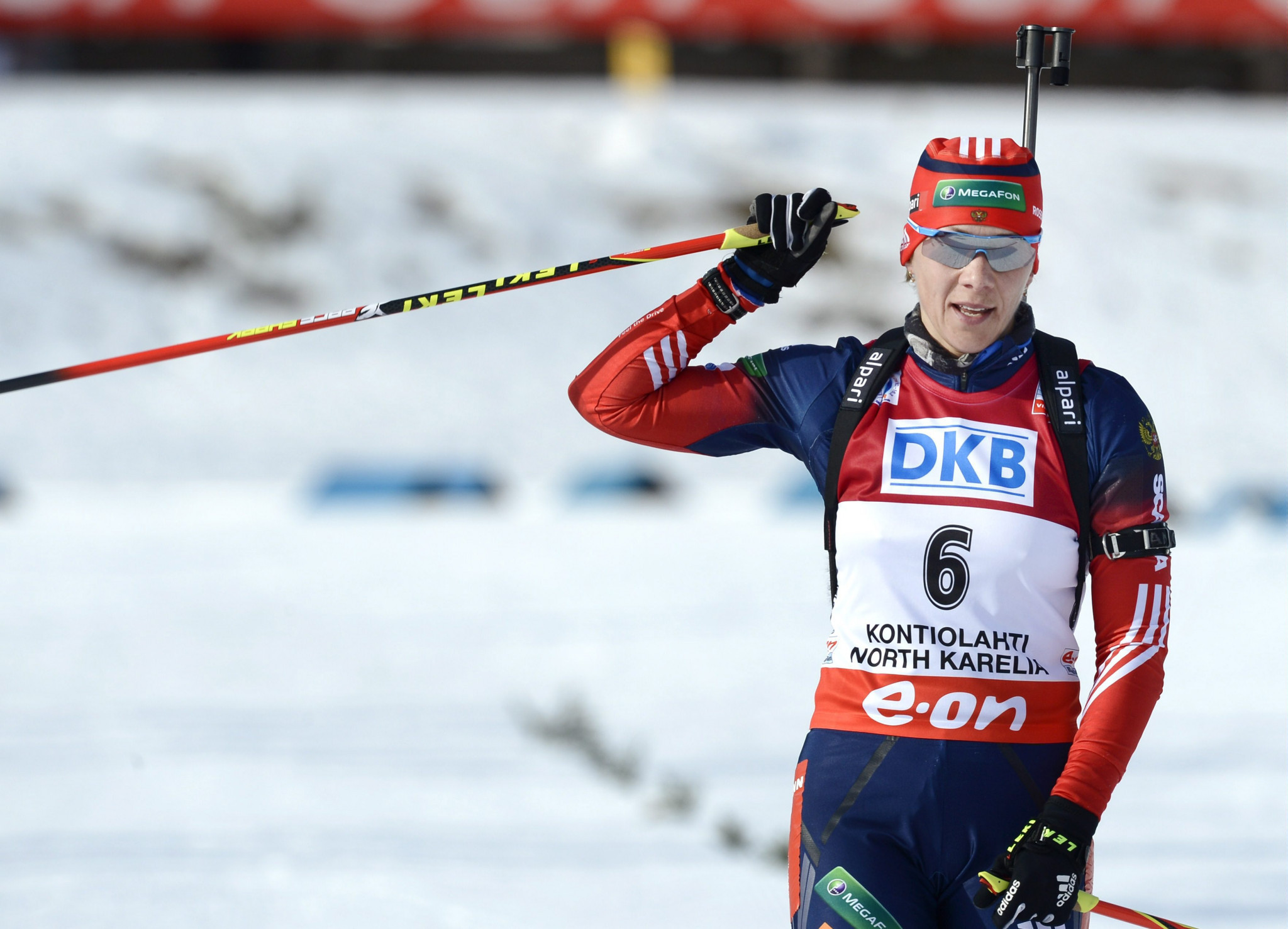 Two-time Olympic biathlon champion Olga Zaitseva is also under investigation by the Disciplinary Commission ©Getty Images