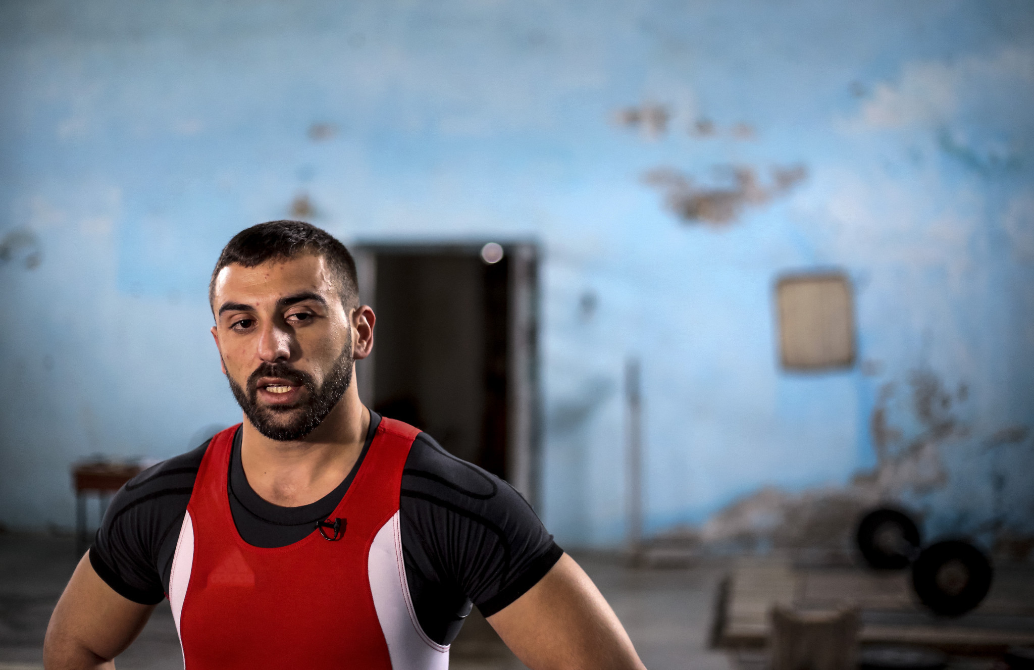 Albania's Daniel Godelli is unable to compete at the 2017 IWF World Championships in Anaheim after being denied a visa to enter the United States ©Getty Images