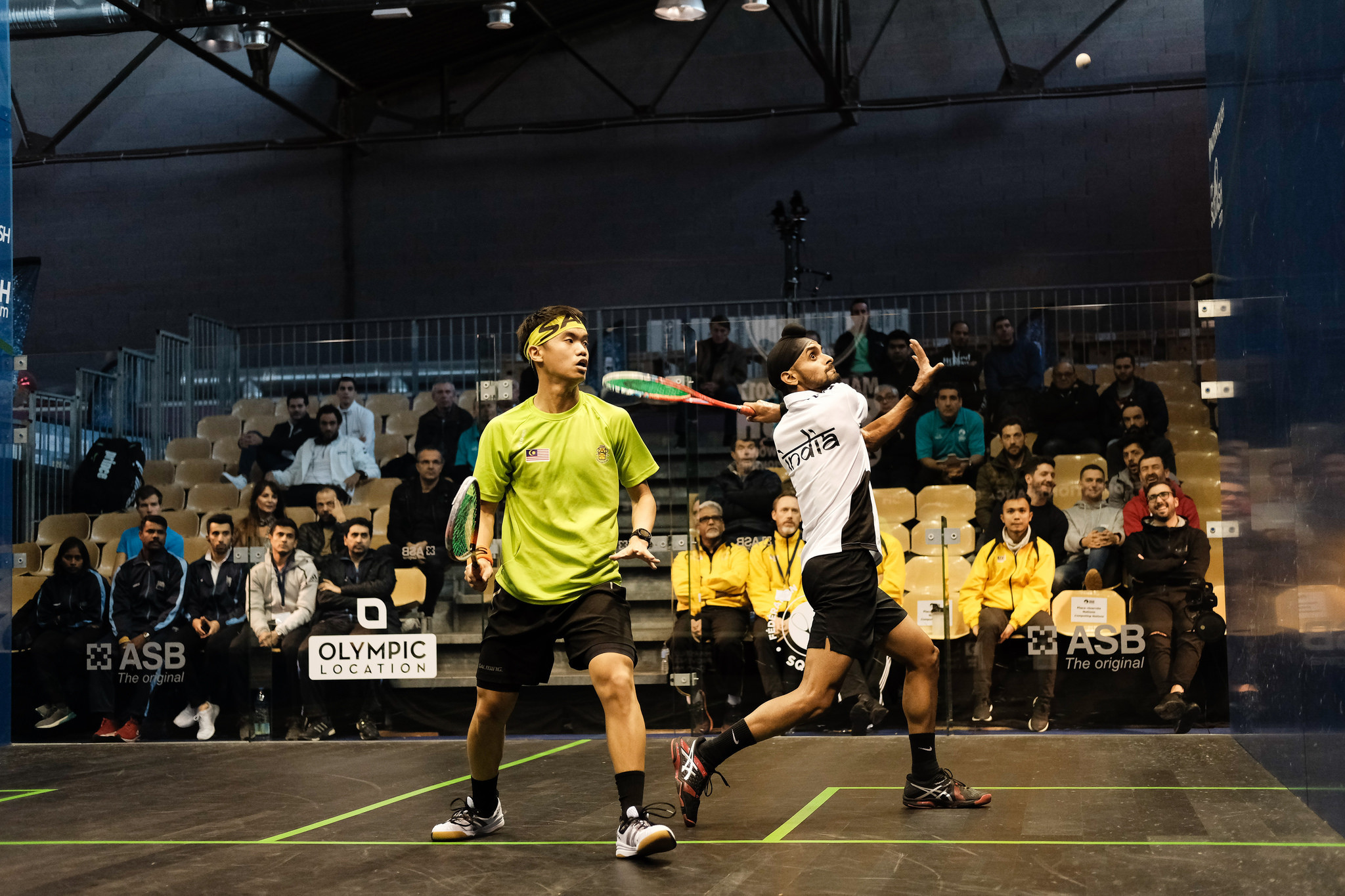 Egypt and England win as Malaysia produce first shock at WSF Men's World Team Championship