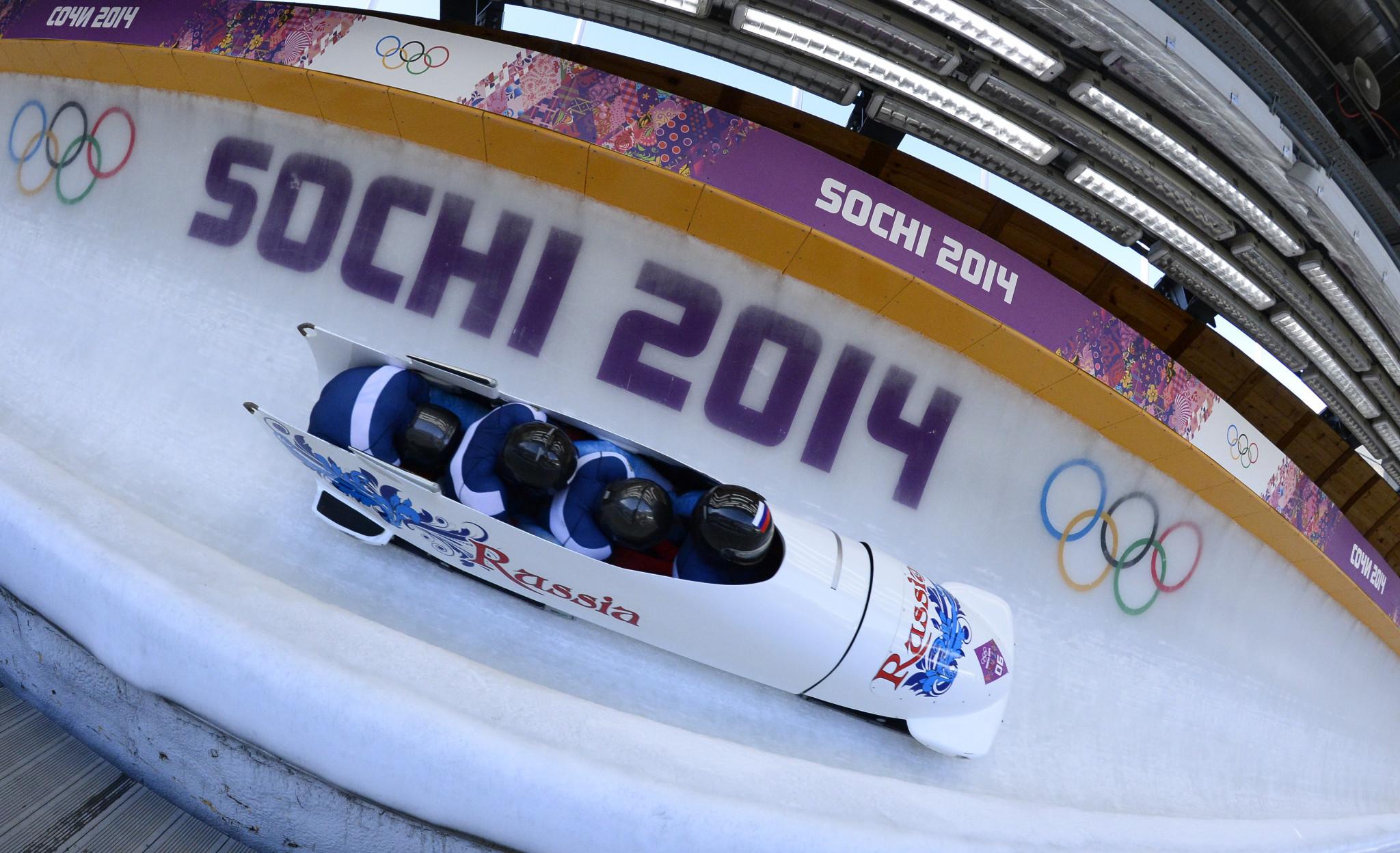 Russia's second four-man bobsleigh team from Sochi 2014 have been disqualified ©Getty Images