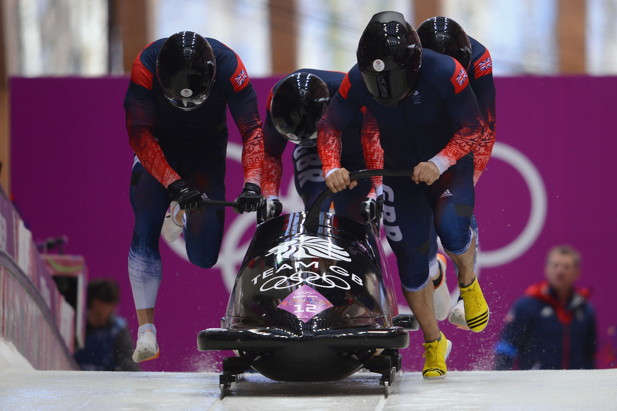 Britain are in line to move into the bronze medal position following the two Russian teams disqualifications ©Getty Images