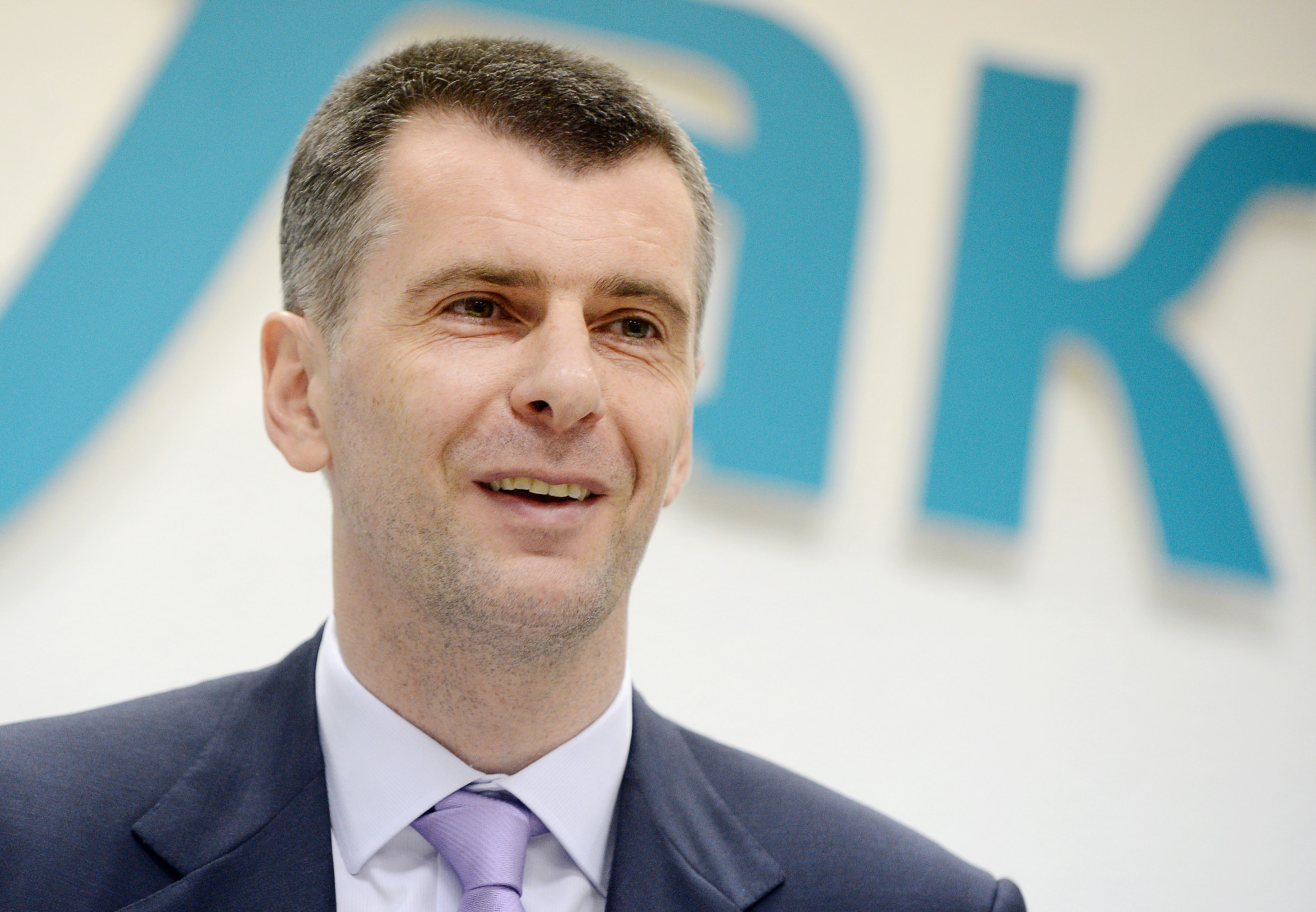 Mikhail Prokhorov has vowed to provide support to the Russian biathletes sanctioned ©Getty Images