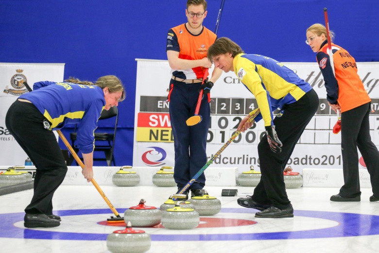 The World Mixed Doubles Curling Championship will be held two months after the sport makes its Winter Olympic debut ©WCF