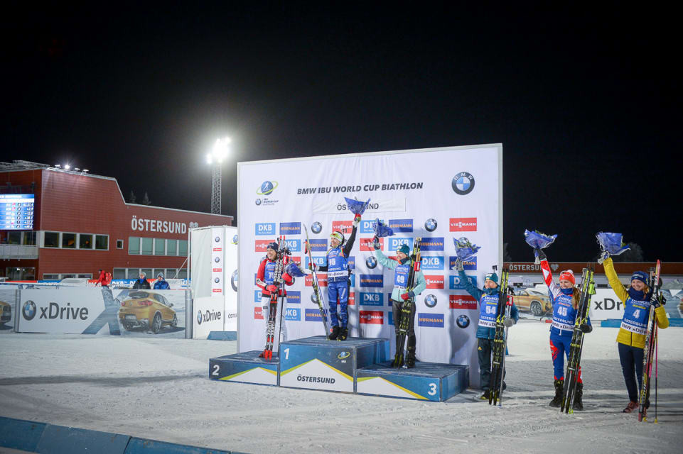 Nadezhda Skardino produced a superb display to secure a surprise win ©IBU