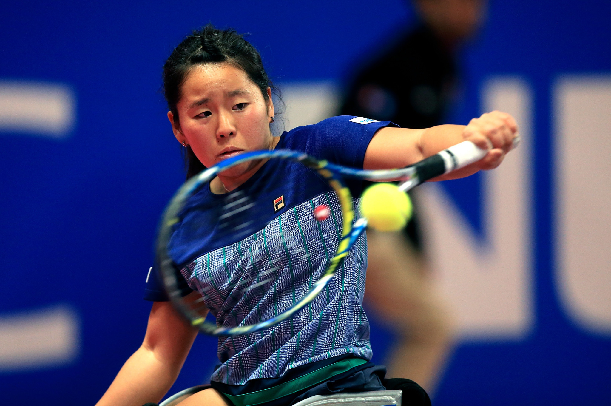 Kamiji impresses on opening day of NEC Wheelchair Tennis Masters