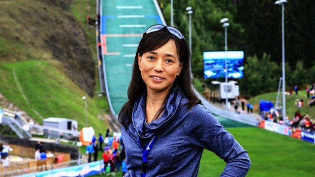 FIS Ski Jumping race director for women, Chika Yoshida, says the sport has come a long way in a short time ahead of the start of the ladies' FIS Ski Jumping World Cup season ©FIS