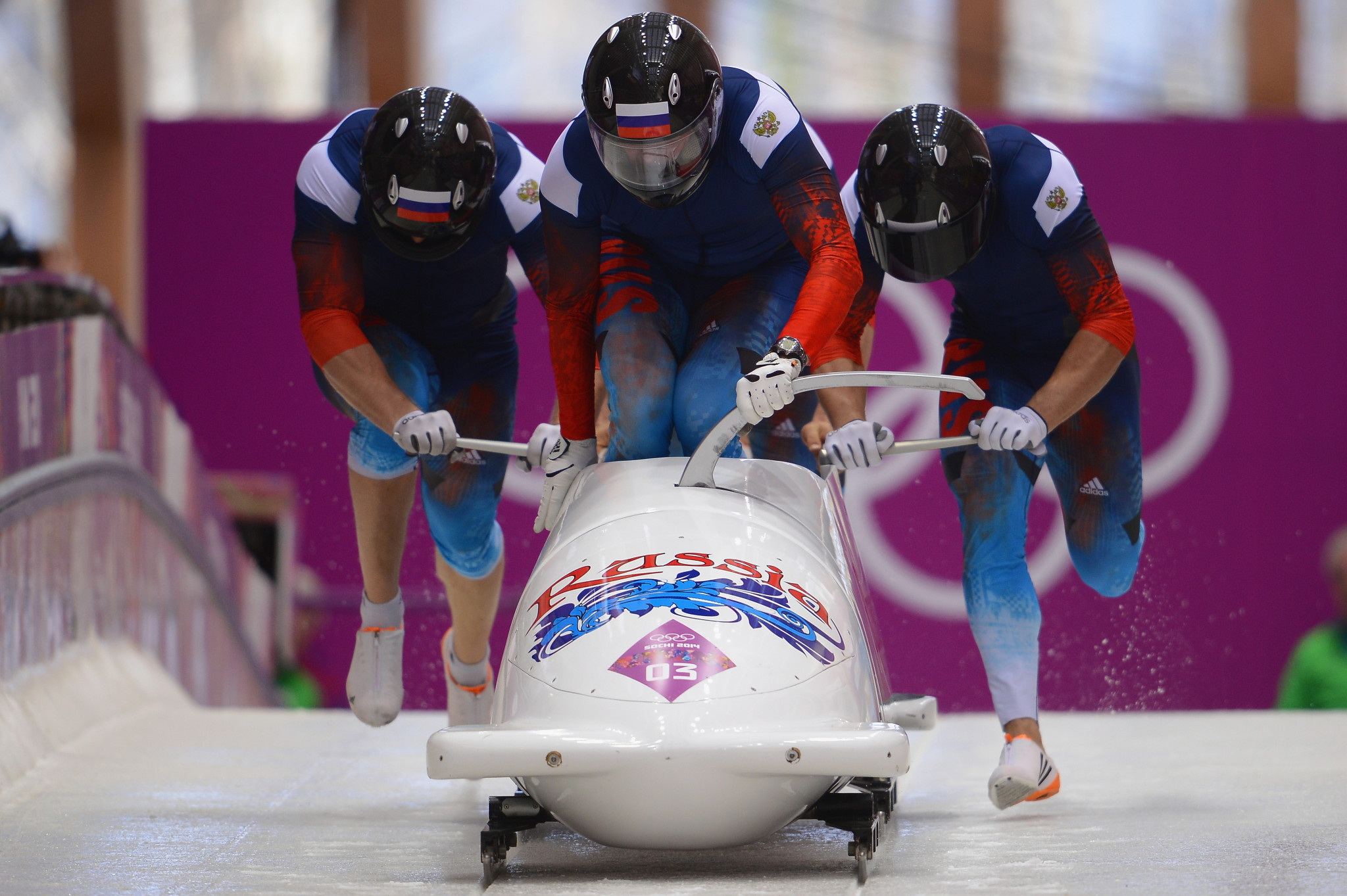 Russian bobsledders who won the four-man event at Sochi 2014 have now been disqualified for doping ©Getty Images