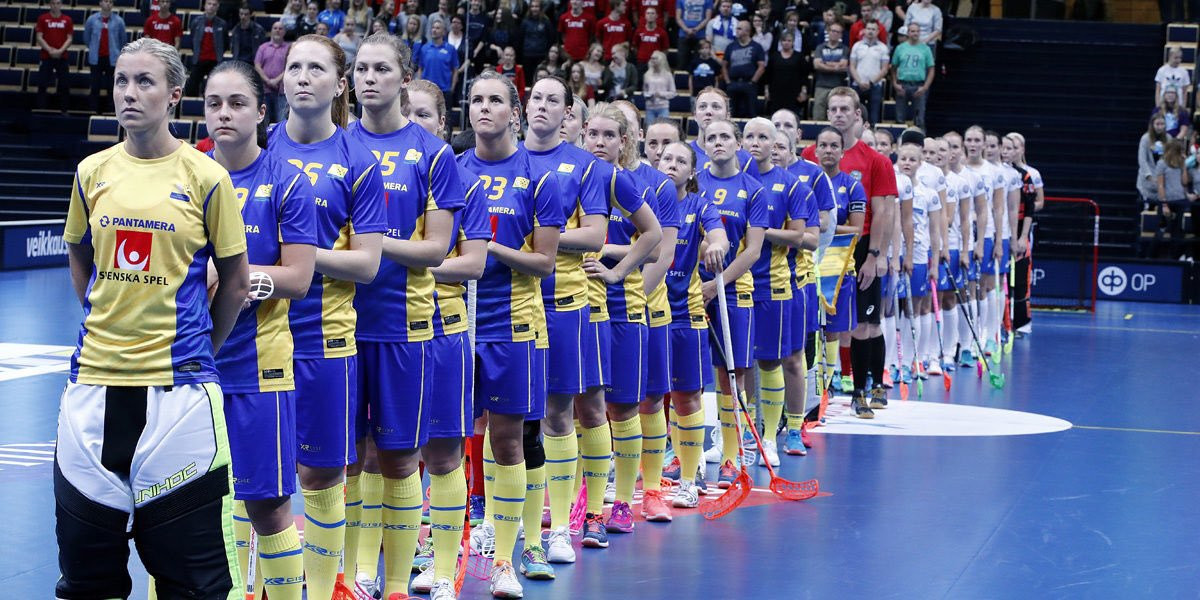 Sweden will bid for a sixth consecutive Women's World Floorball Championships title with competition in Bratislava ©twitter
