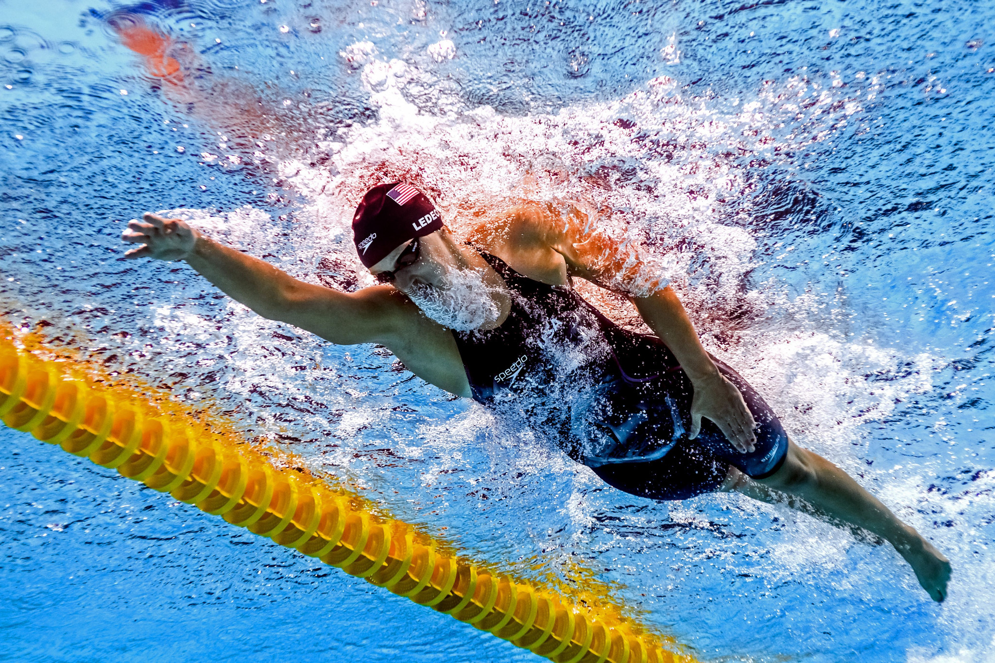 Ledecky and Snyder named Olympic Athletes of the Year at Team USA Awards