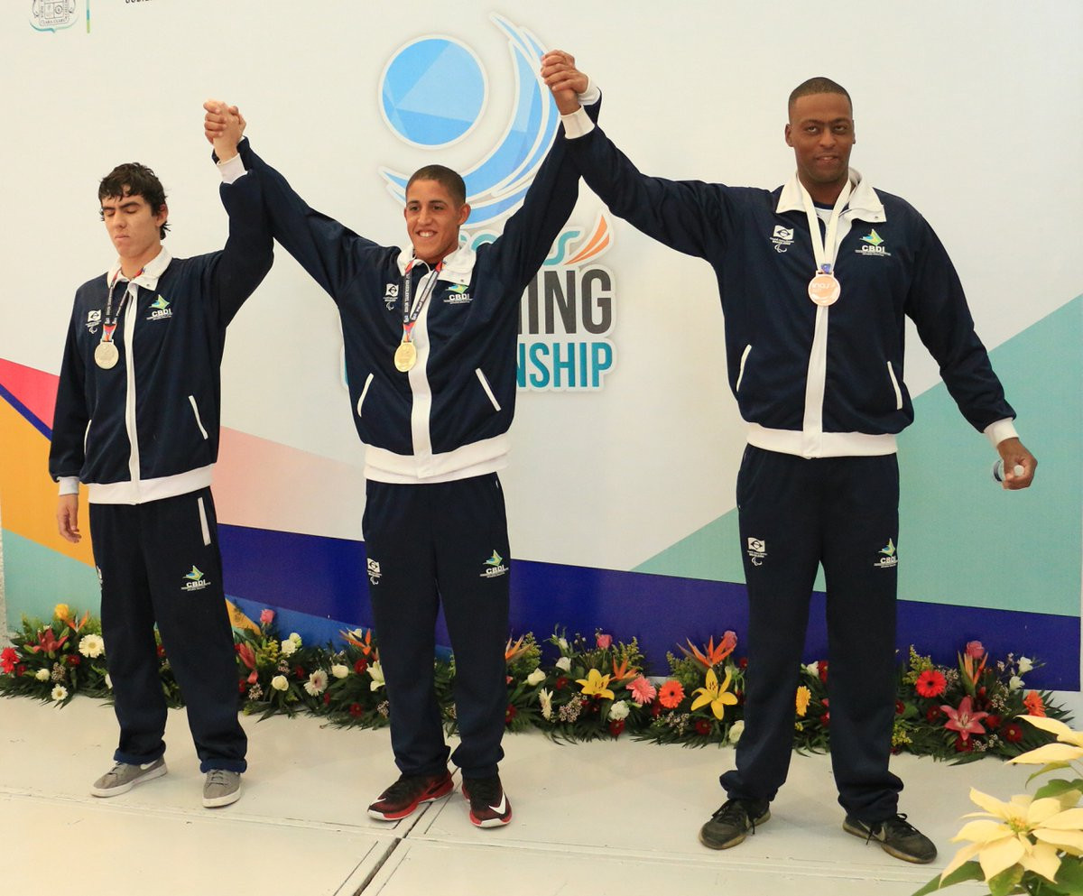 Brazil dominate opening day of INAS Swimming Championships