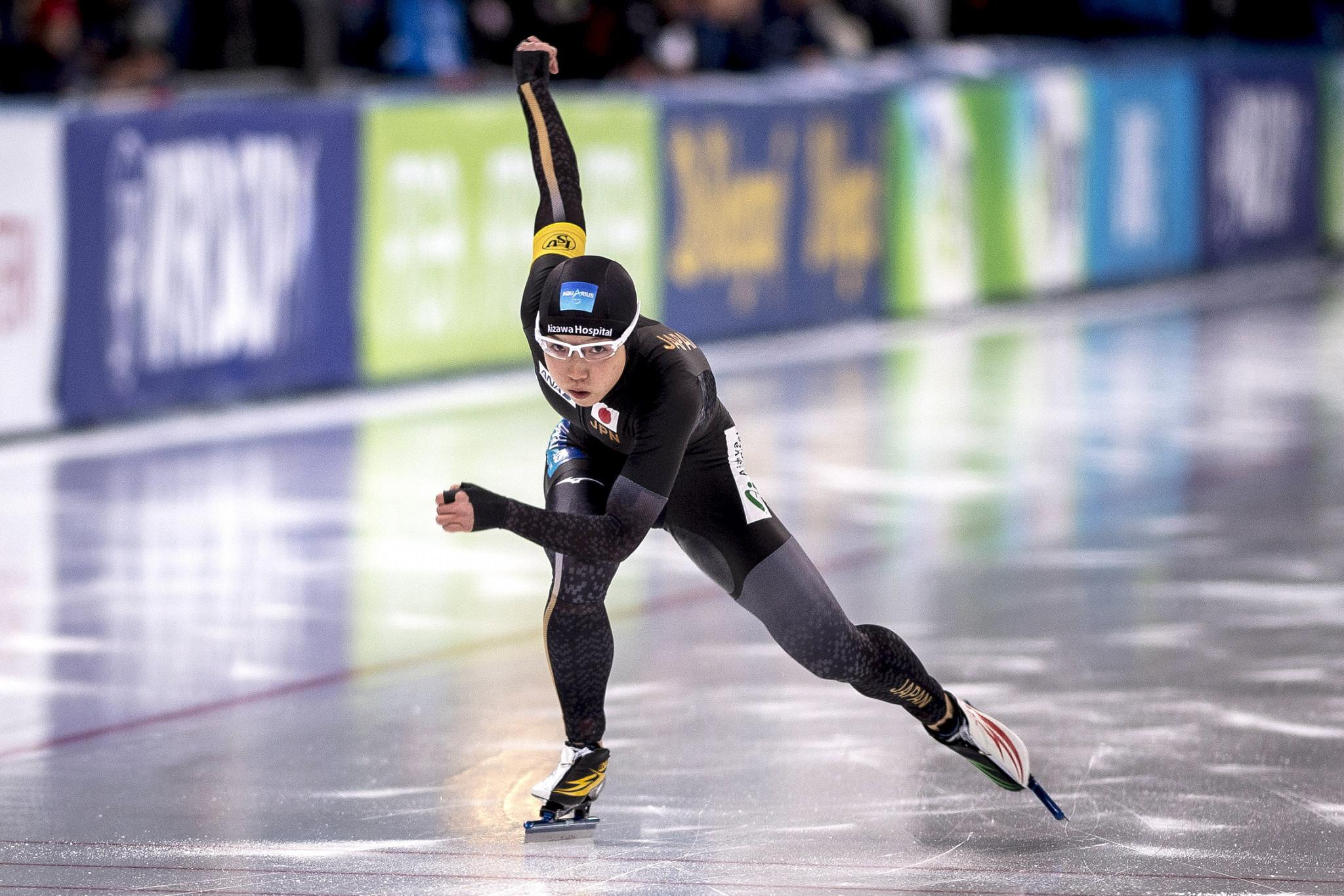 Kodaira hopes to maintain early season form at ISU Speed Skating World Cup in Calgary