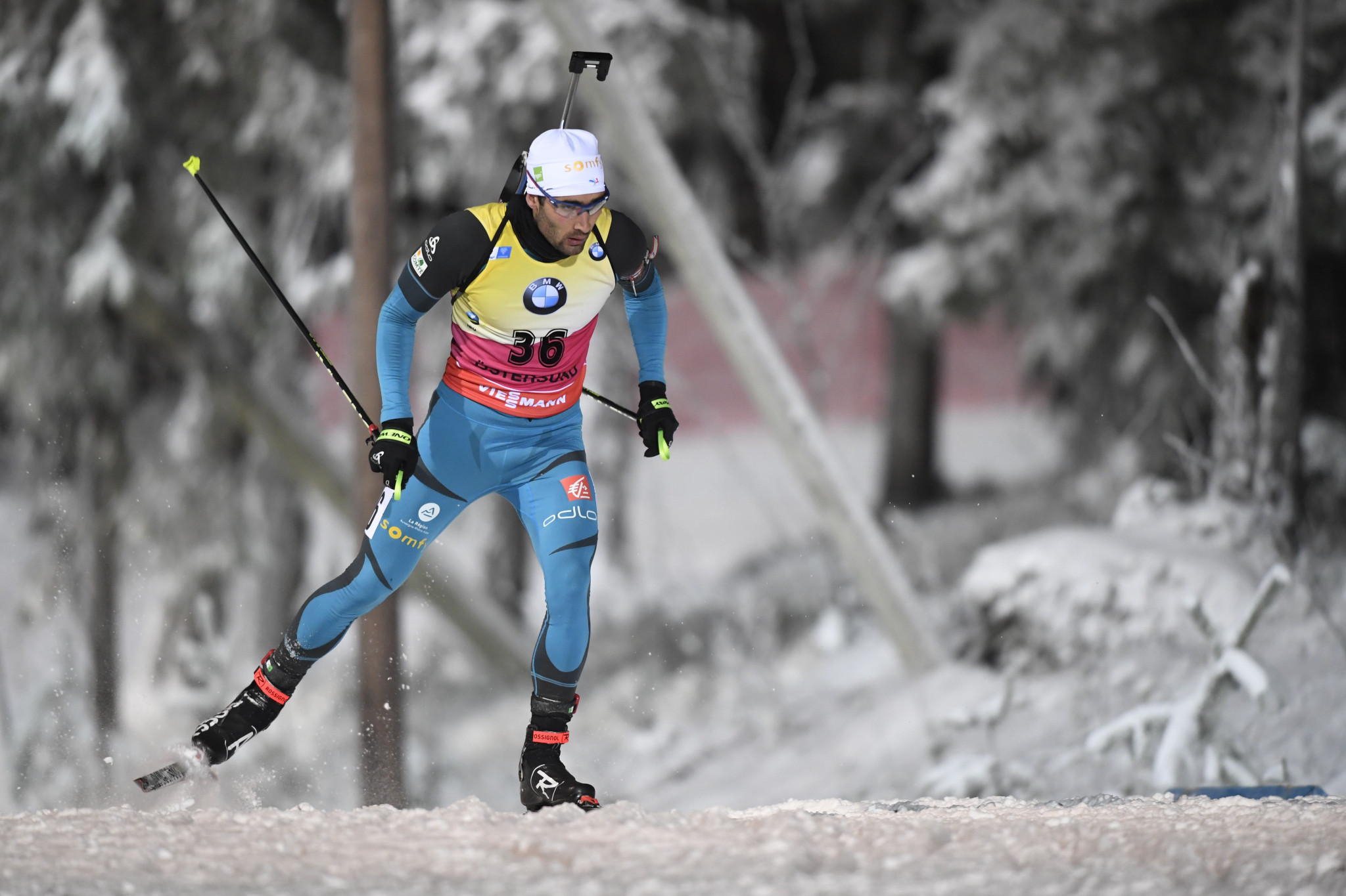 Martin Fourcade admitted he was not 100 per cent as he took bronze ©Getty Images