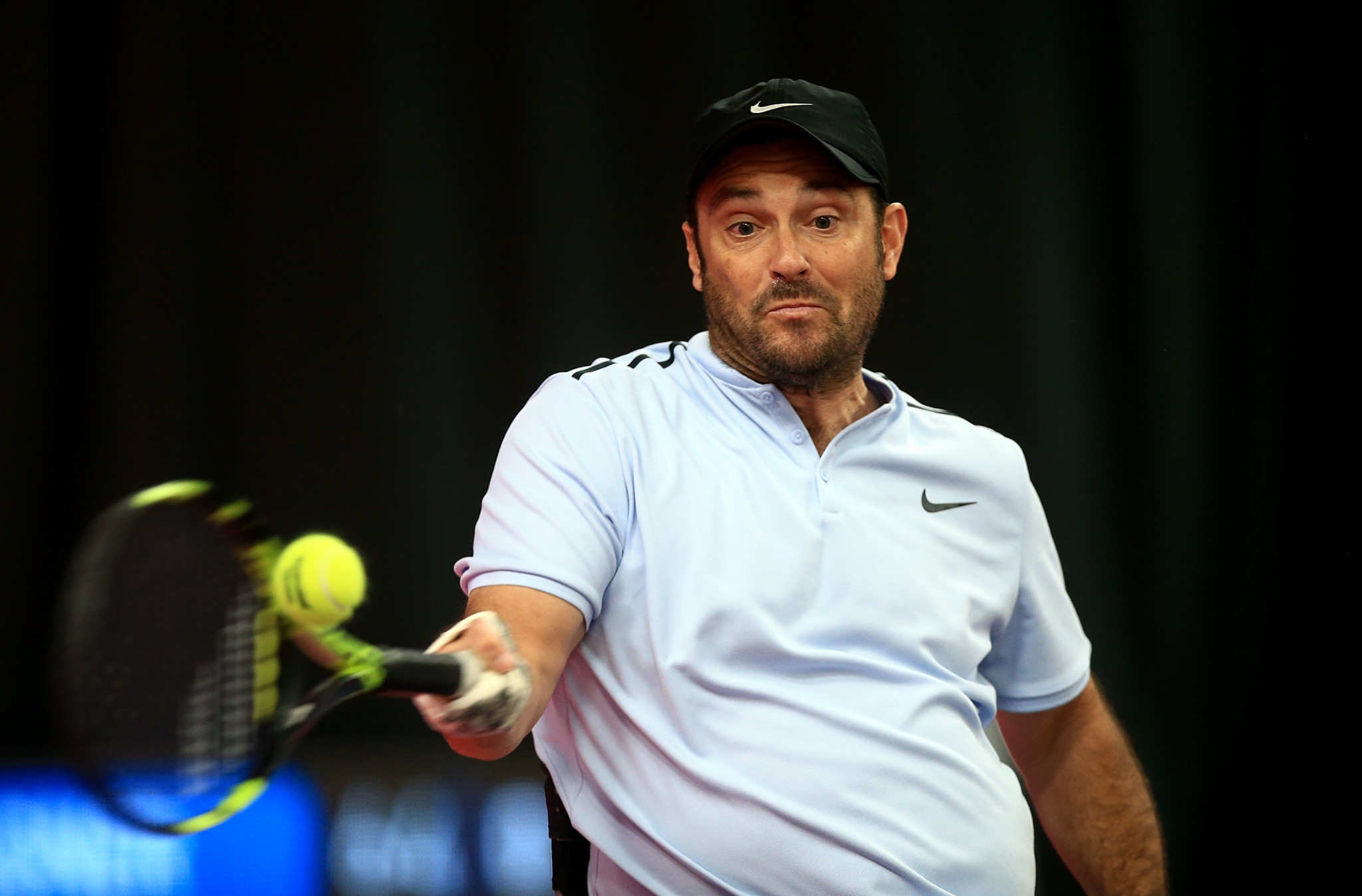 David Wagner has reached the quad singles semi-finals as he looks to defend his title ©Getty Images