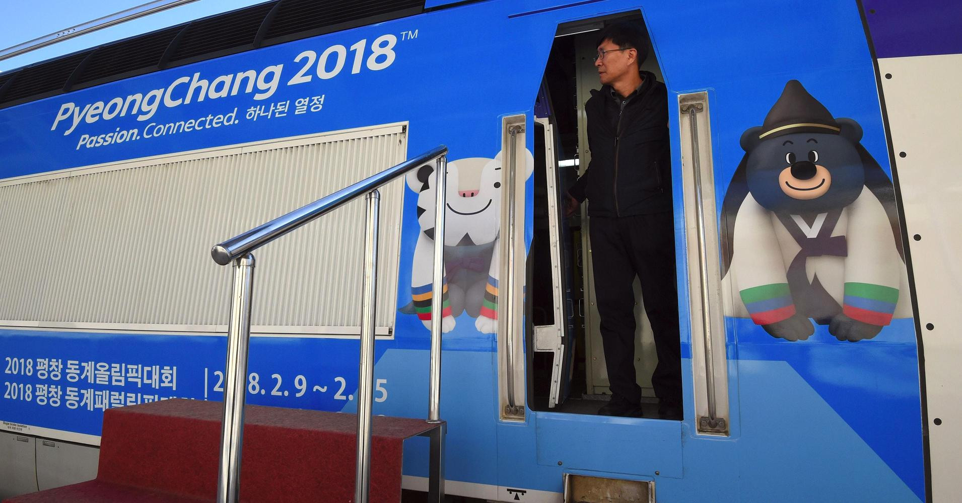 High-speed train for Pyeongchang 2018 set to make first public journey