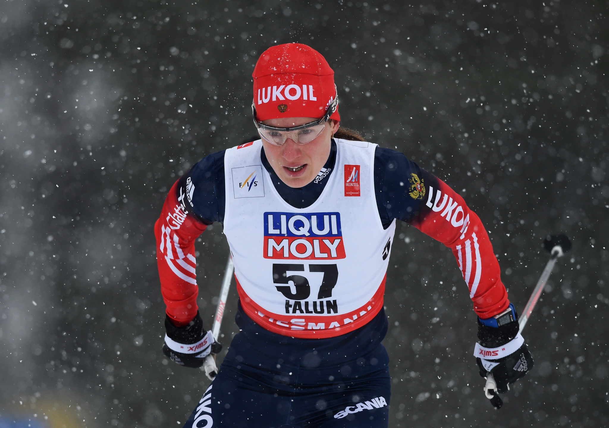 Yulia Chekaleva is one of two cross-country skiers sanctioned ©Getty Images